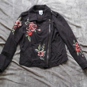 Kensie black denim jacket